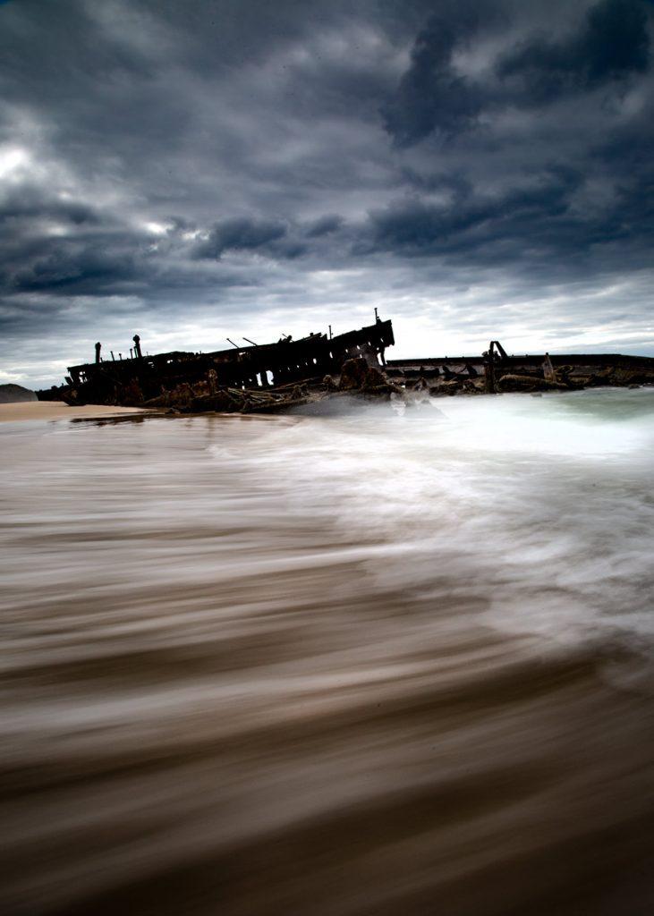 SS Maheno, QLD, Australia
